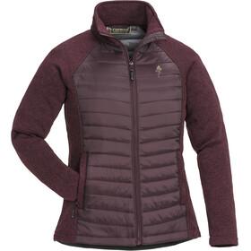 Pinewood Gabriella Padded Jacket Women Dark Burgundy